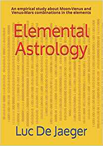 Elemental Astrology paperback cover by Luc De Jaeger