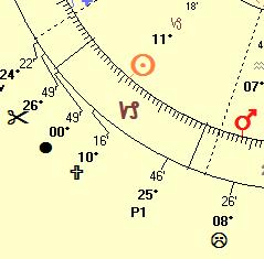 Intercepted Sun in Capricorn
