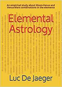 Elemental Astrology paperback cover by Luc De Jaeger